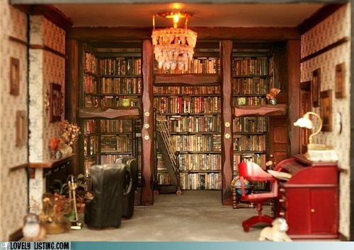 bookcase,dollhouse,library,miniature