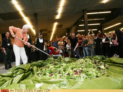 art high line new york Performance Art salad - 6018889728