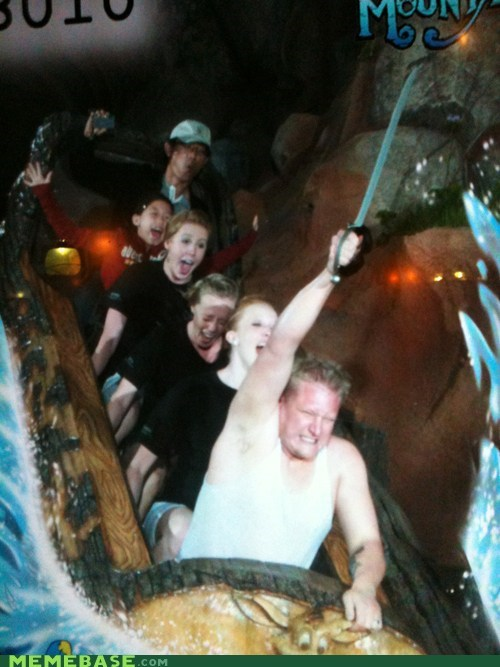 IRL,roller coaster,splash mountain,sword