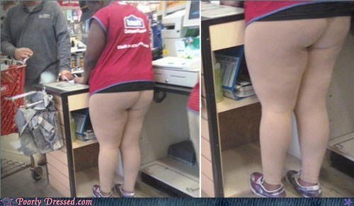 cashier,legs,lowes,stretch pants,yoga pants