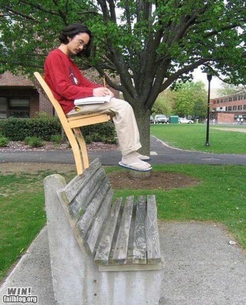 balance bench chair park skill studying - 6019229440