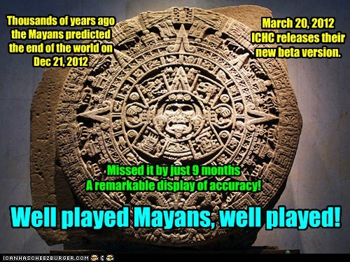 Thousands of years ago the Mayans predicted the end of the world on Dec 21, 2012