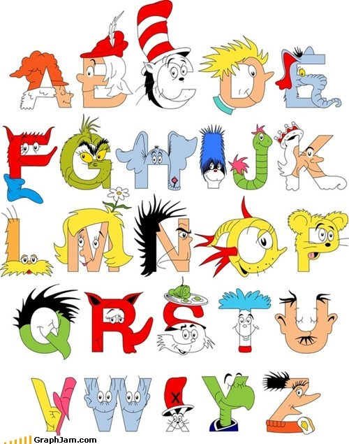 alphabet dr seuss Memes - 6019420416