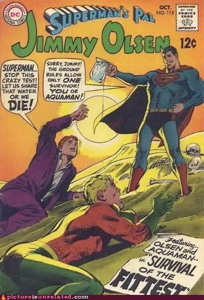 jimmy olsen superman water wtf - 6019577344