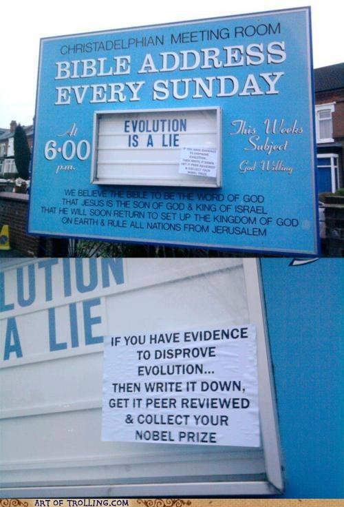 bible evolution IRL Memes sign - 6019655168