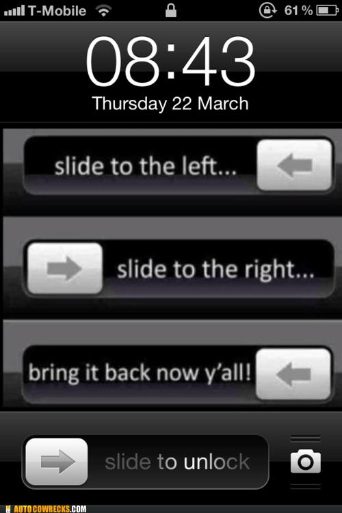 lock screen lockscreen slide to unlock - 6019878144