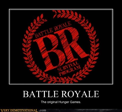 battle royale hilarious hunger games