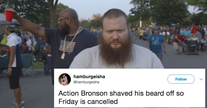 twitter roast ridiculous action bronson reaction rapper funny - 6020869