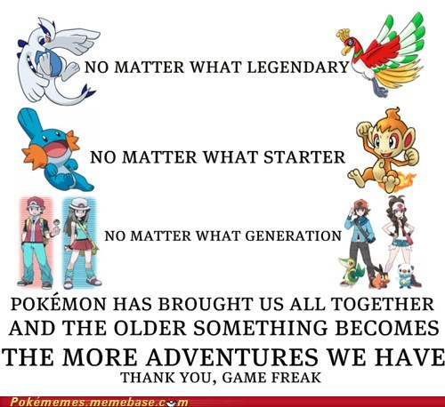 adventure best of week bring us together Game Freak Memes nintendo Pokémon - 6021376768