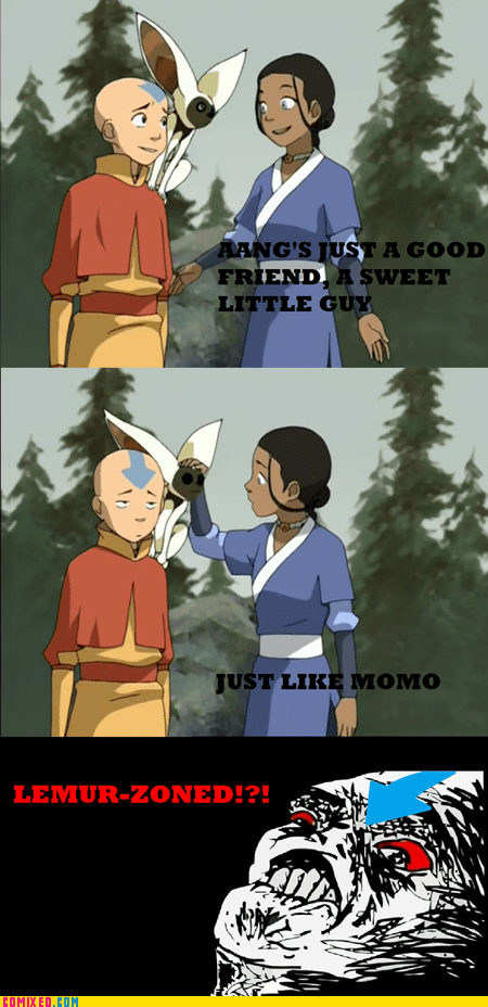 Avatar the Last Airbender,cartoons,friend zone,lemur,TV