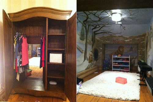 Magical Wardrobe,Narnia IRL,Upgraded Childhood