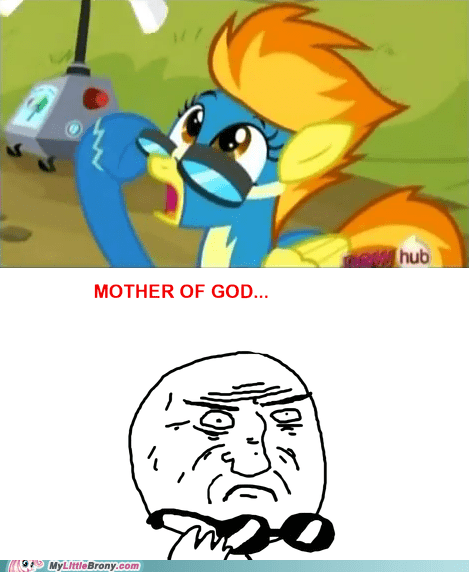 hurricane fluttershy,meme,mother of god,spitfire