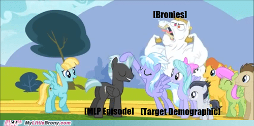 alright Bronies enthusiasm little girls meme - 6022644480
