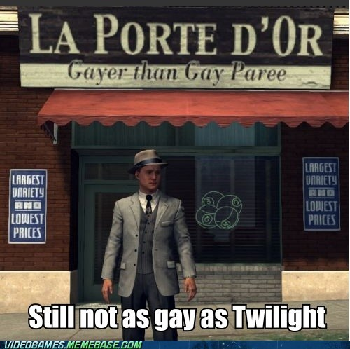 cole phelps emotions face capture LA Noire meme still not as gay as twilight - 6022651136