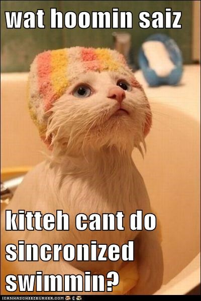 adorable bath hat question swimming - 6022670592