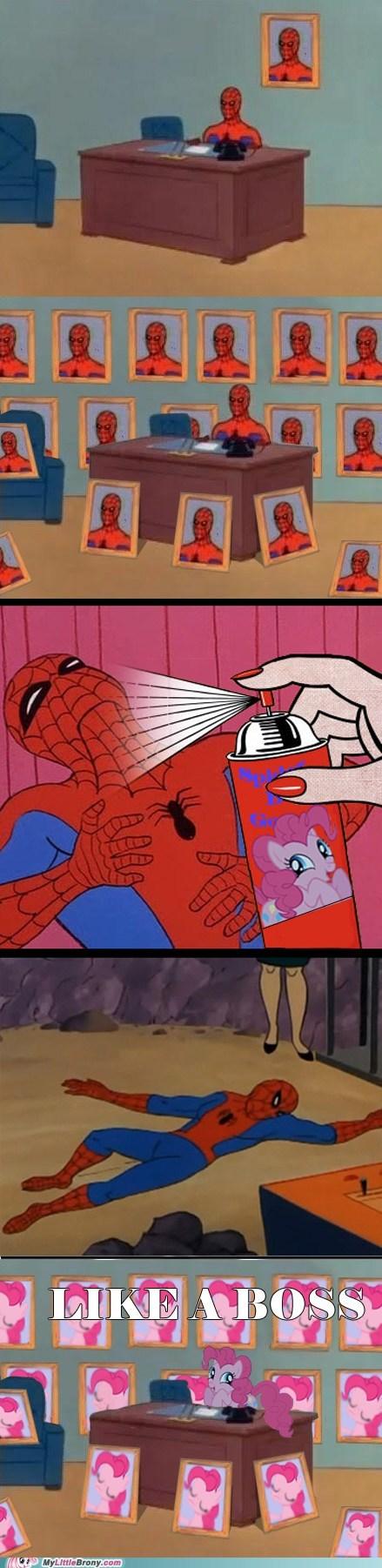 comics pinkie pie ponify Spider-Man - 6022789888