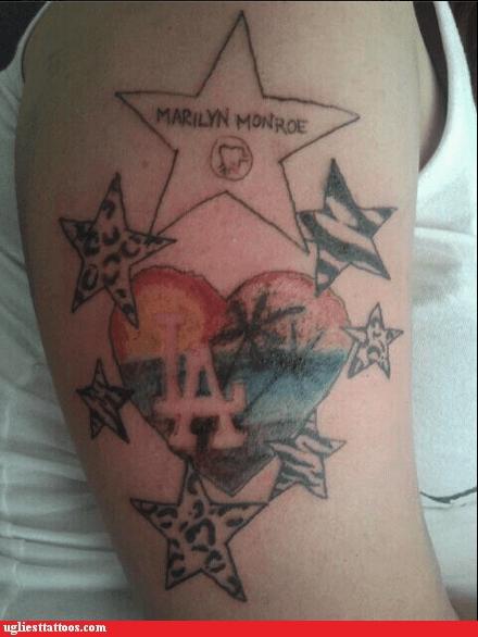 los angeles marilyn monroe west coast wish upon a star - 6023489536
