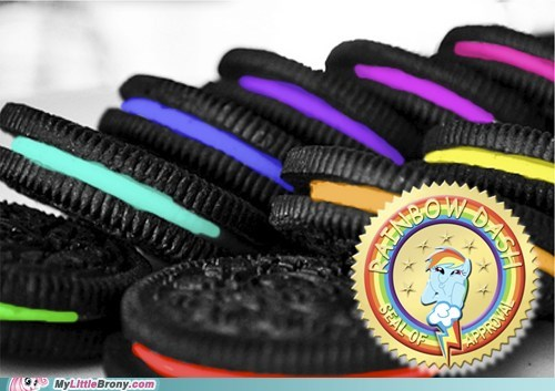 20 Percent Cooler Oreos rainbow rainbow dash rainbow dash approves twenty percent cooler - 6023977216