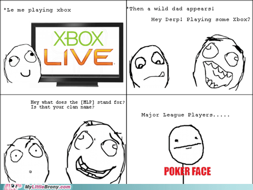 clan name closet brony MLP rage comic Rage Comics xbox - 6024308480