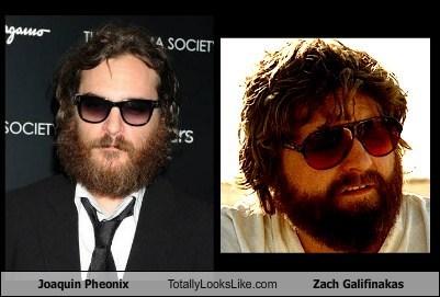 actor funny Joaquin Phoenix TLL Zach Galifianakis - 6024859136