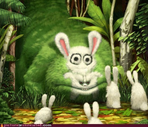 bunny,monster,seems legit,wtf