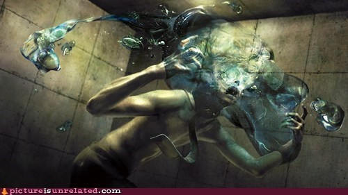 art weird art drowning - 6026599680