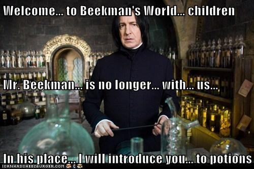 Alan Rickman beekmans-world Harry Potter potions science Severus Snape - 6026616320