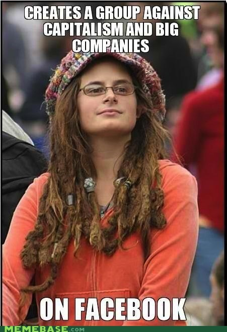 bad argument hippie capitalism facebook hippie meme madness - 6026713344