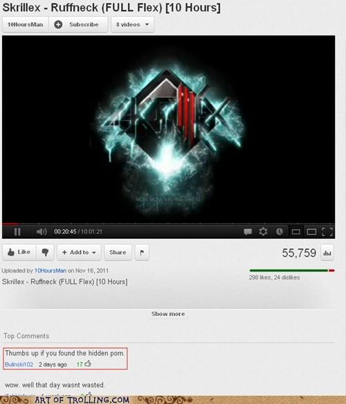 skrillex youtube pr0n funny - 6026882304