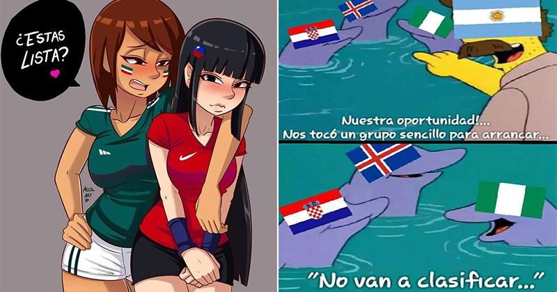 galeria enorme memes argentina mexico