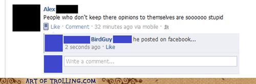 facebook idiots opinion wtf - 6027533056