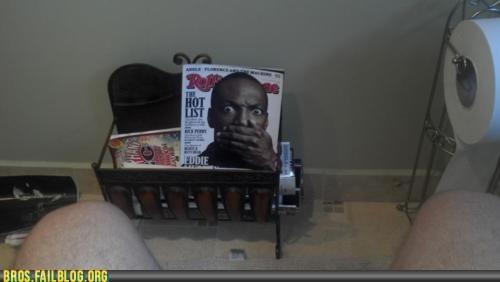 bathroom,eddie murphy,junk,magazine,p33n,rolling stone,toilet