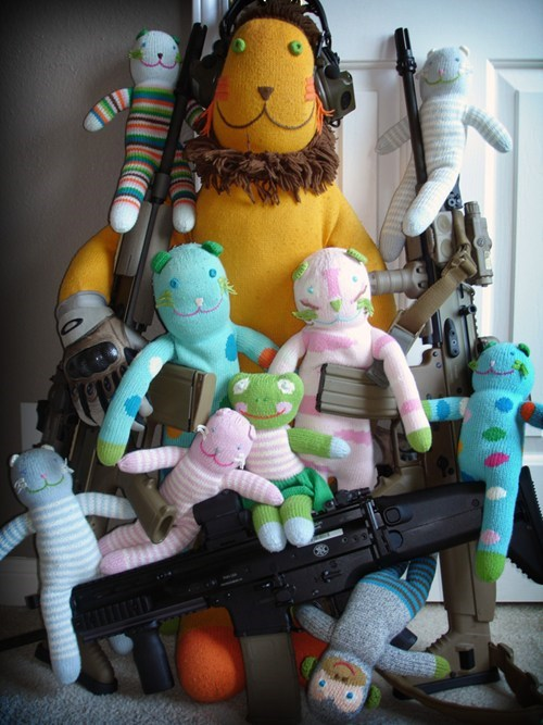 guns NRA stuffed animals