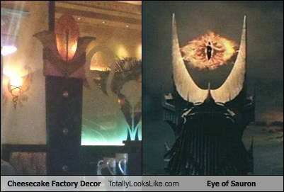 decor Eye of Sauron funny Lord of the Rings Movie TLL
