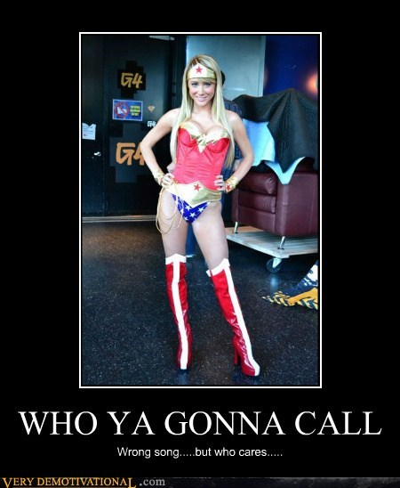 ghost busters hilarious song wonder woman wtf - 6030161152