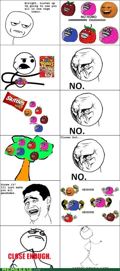 all the things fruitmen meme madness Rage Comics - 6030653440