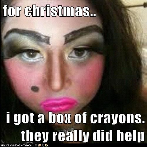 cartoons christmas emolulz makeup - 6030693888