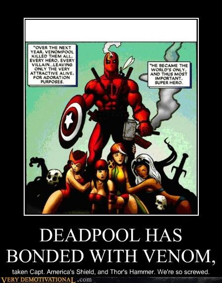 deadpool Super-Lols Thor uh oh Venom - 6030842368