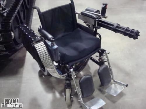 DIY guns modification what wheel chair