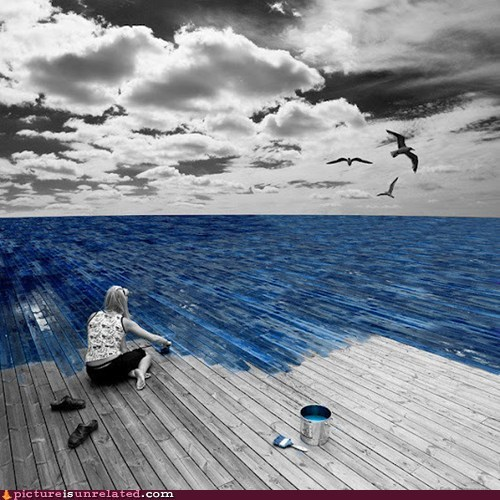 blue,paint,sea,wtf