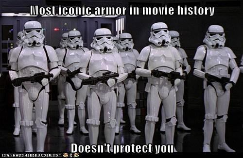 armor history iconic ineffective movies protection star wars stormtrooper