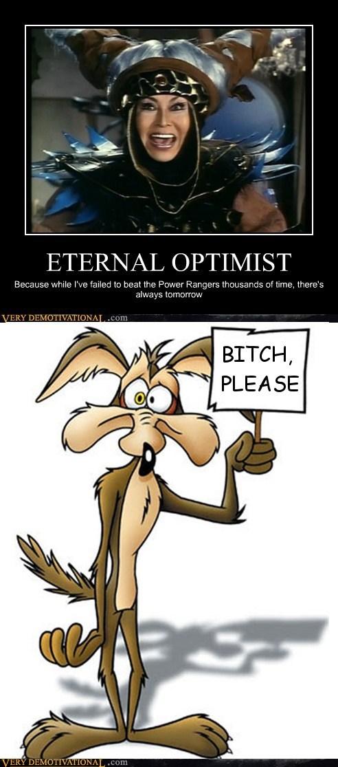 hilarious optimist power rangers wile e coyote - 6031398144