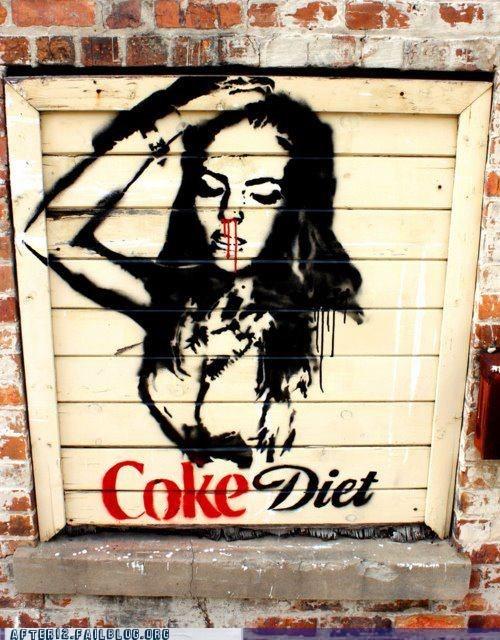 celeb coke graffiti - 6031426048