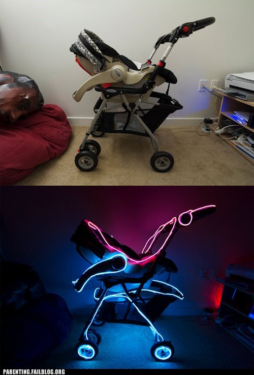 light up,stroller,tron,Tron Legacy,win