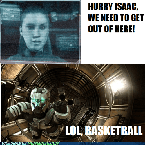 basketball,comic,dead space,isaac,kendra,mini game