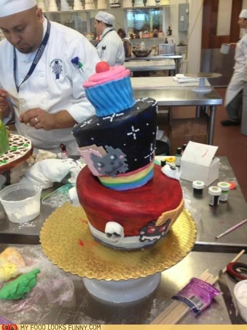 cake,cupcake,layers,nyancat,pop tart,tacnayn,waffle