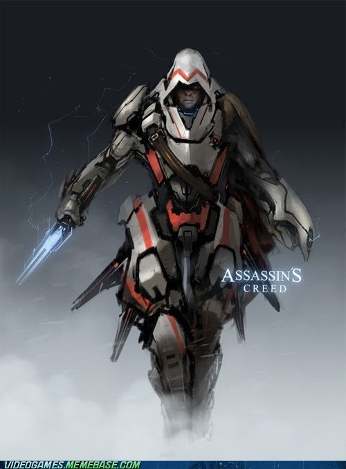 armor,art,assassins creed,shut up and take my money,the future,the internets,video games