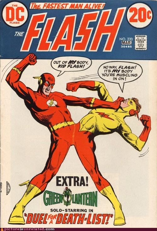 comic DC the flash wtf - 6031699456