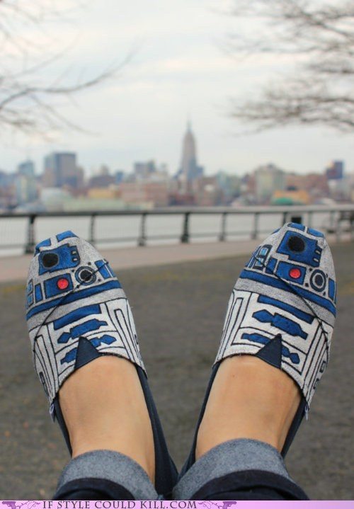 best of the week crazy shoes geek chic r2d2 robots star wars - 6031727616