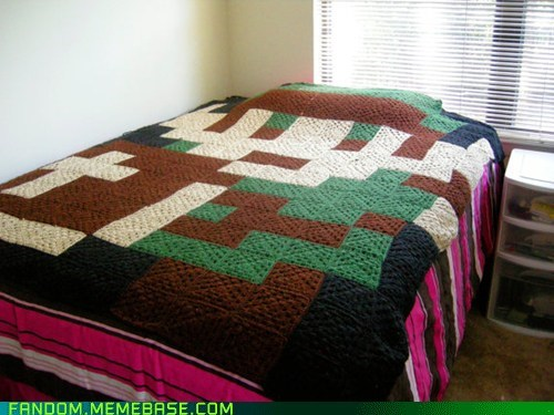 blanket Fan Art legend of zelda link - 6031801344